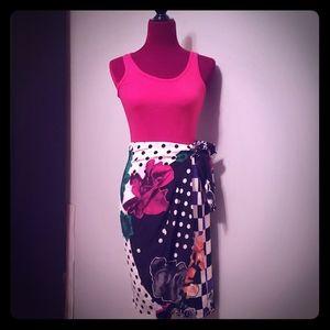 MaxMara Silk Skirt